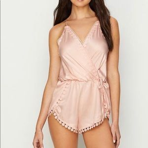 NWT Anthropologie camisole all one piece romper